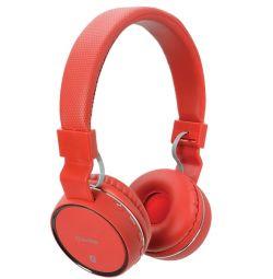 AV:link Wireless Bluetooth Headphones red