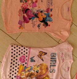 Tricouri pentru fete. Turcia