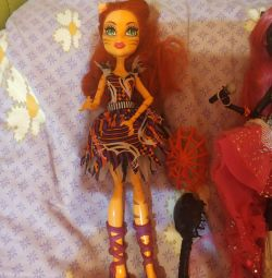 Belle Thor circus doll monster high