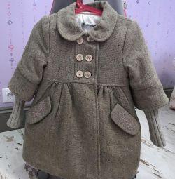 Шикарне вовняне пальто для модниці