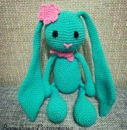 Amigurumi hare toy