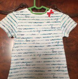 T-shirt για το κορίτσι. 128 -134