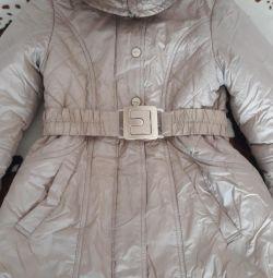 Пальто зимнее для девочки рост 146