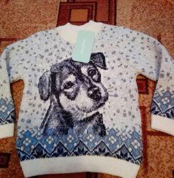 Нові вовняний светр