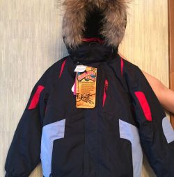 Suit ZIMA new solution 140 natural fur