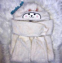 Νέος φορεσιά Lupilu Αρκούδα με τα αυτιά