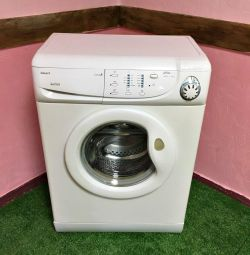 Candy washing machine 4 kg narrow. Warranty