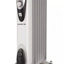 Новый, гарантия масляный радиатор Polaris CR C0715