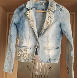 Jacket cu jachetă denim, 40-42
