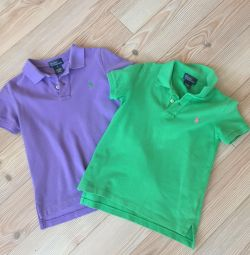 Polo 2 pcs Ralph Lauren р.5 на 116см
