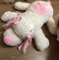 Soft toy big dog