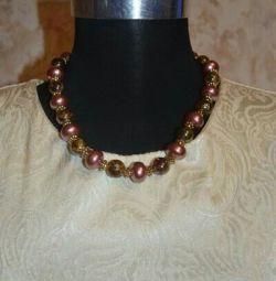 Beads + earrings