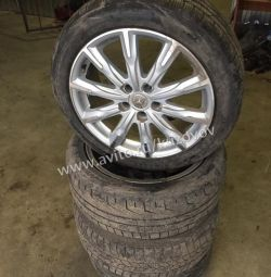 Mercedes W221 Wheel Set