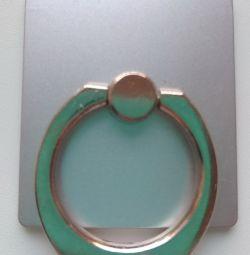 Suport pentru inel de argint pentru smartphone