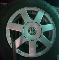 Диски гума Volkswagen Passat B5 r15