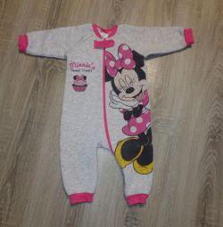 Disney baby combo with fleece