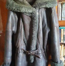 Sheepskin coat. Turkey.