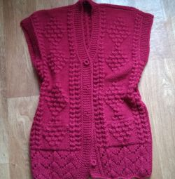 Cardigan pure wool