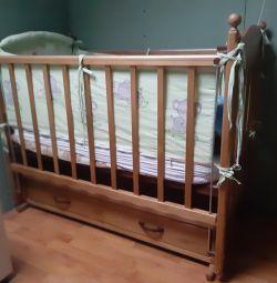Crib, sides