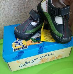 Pantofi pentru un băiat 20 p. (21,22,25,26)