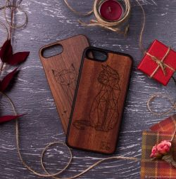 деревянные чехлы с индивидуальной гравировкой