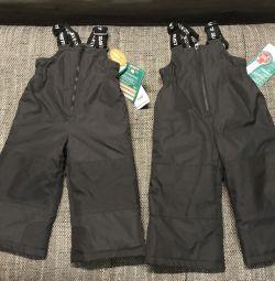 Semi-overalls winter Gusti trousers new