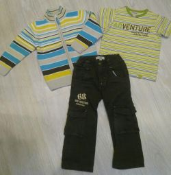 Jumper, Play Today pants, p.98 +