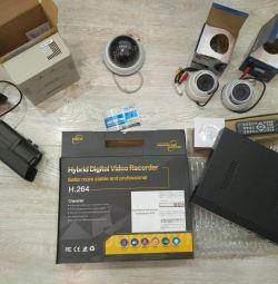Система видеонаблюдения 5 камер