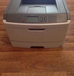 Lexmark e460dn laser printer