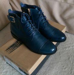 Δερμάτινα παπούτσια Zenden Marking 36
