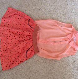 Skirt with a shirt