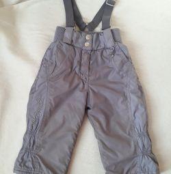 Pantaloni pentru sezonul sezonier