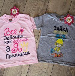 Милые футболки для девочек с надписями