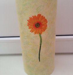 Vase height 27, diameter 12