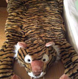 Ковер-Тигр Тигрович 128см из Нью Йорка