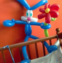 Заєць з кульок