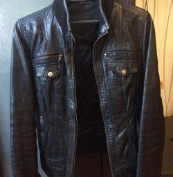 Jachetă din piele tapgan