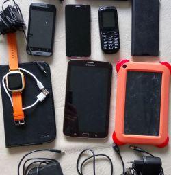 Tablets, phones