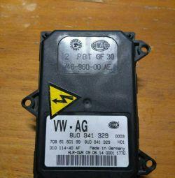 Блок управления светом VW Touareg 2010- (8U0941329