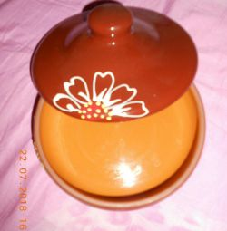 New Clay Plate with Lid