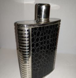 Flask for alcohol.