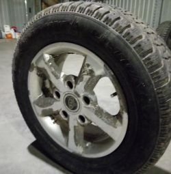 Wheels assembled 4 pcs. Tires GOOD YEAR 235/60 R16