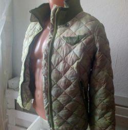 o jachetă matlasată