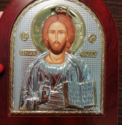 Icon new silvering and gilding