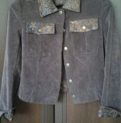Jacket velveteen size44