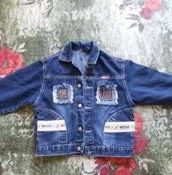 Jachetă de denim pentru copii