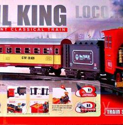 Children's railway Rail King.