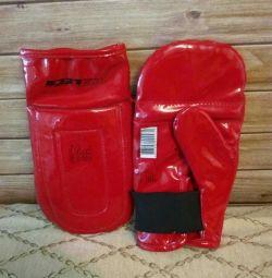 Gloves for sport, size L