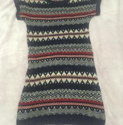 Very stylish warm dress