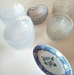 Салатники вазочки